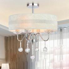 lustre de cristal хрустальная люстра с 3 шт E14 лампа для украшения дома освещение линейный дизайн 220-240 В