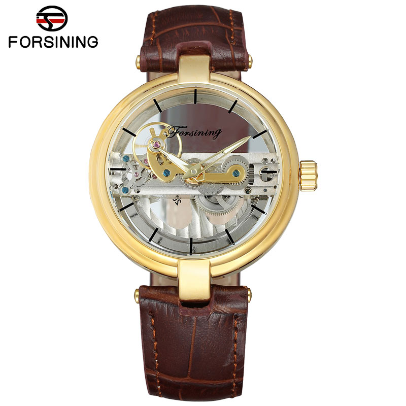 FORSINING 2018 Watches Men Luxury Top Brand Fashion Casual Automatic Self-wind Mechanical Wristwatches Genuine Leather Strap FORSINING 2018 Watches Men Luxury Top Brand Fashion Casual Automatic Self-wind Mechanical Wristwatches Genuine Leather Strap