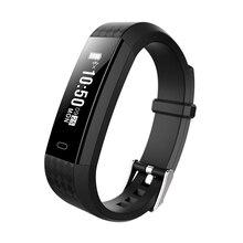 696 ZY68 Inteligente Pulseira Pedômetro Relógio Do Esporte da Aptidão Vibração Atividades Pulseiras Rastreador Banda Inteligente Pulseira F PK ID115