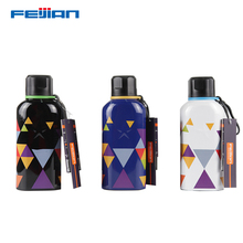 FEIJIAN 600ml thermal jar Vacuum Insulated Stainless Steel Sports thermos Bottle Double Wall Flask Narrow Mouth 2018 new fashion