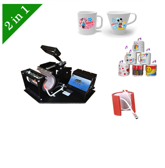 ФОТО Sublimation Heat Transfer Machine For Mug combo 2 in 1 LY-022