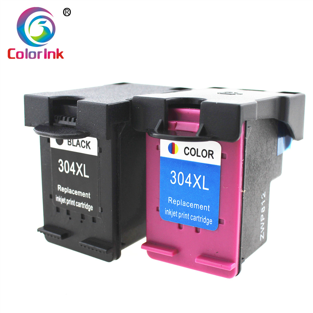 ColoInk For HP 304 304xl Ink Cartridge For HP Deskjet 3720 3721 3723 3724 3730 3732 3752 3755 3758 Printer Remanufactured