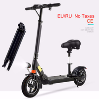 JS 48V 500W 10inch 13Ah Electric Scooter Brushless Motor Foldable Unisex CE Adult Lithium Batterry Koowheel Lithium Battery|Electric Scooters|   -