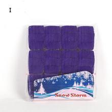 Purple Finger SnowStorm Snow Paper Snowflakes Magic Tricks Props Toys YH304