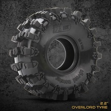 4pcs High Quality Rubber Tires & Double Sponge For 1/10 Rc Crawler Car Traxxas Trx4  D90 D110 Axial Scx10 90047 Cc01 Rc4wd