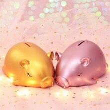 Lucky Big Gold Pig Piggy Bank Meng Birthday Gift New Year Creative To Send Children Not Bad Money Box Home Decor