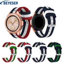 20mm Nylon Watchband for Samsung Galaxy Watch 42mm Replacement Bracelet Band Strap Wrist