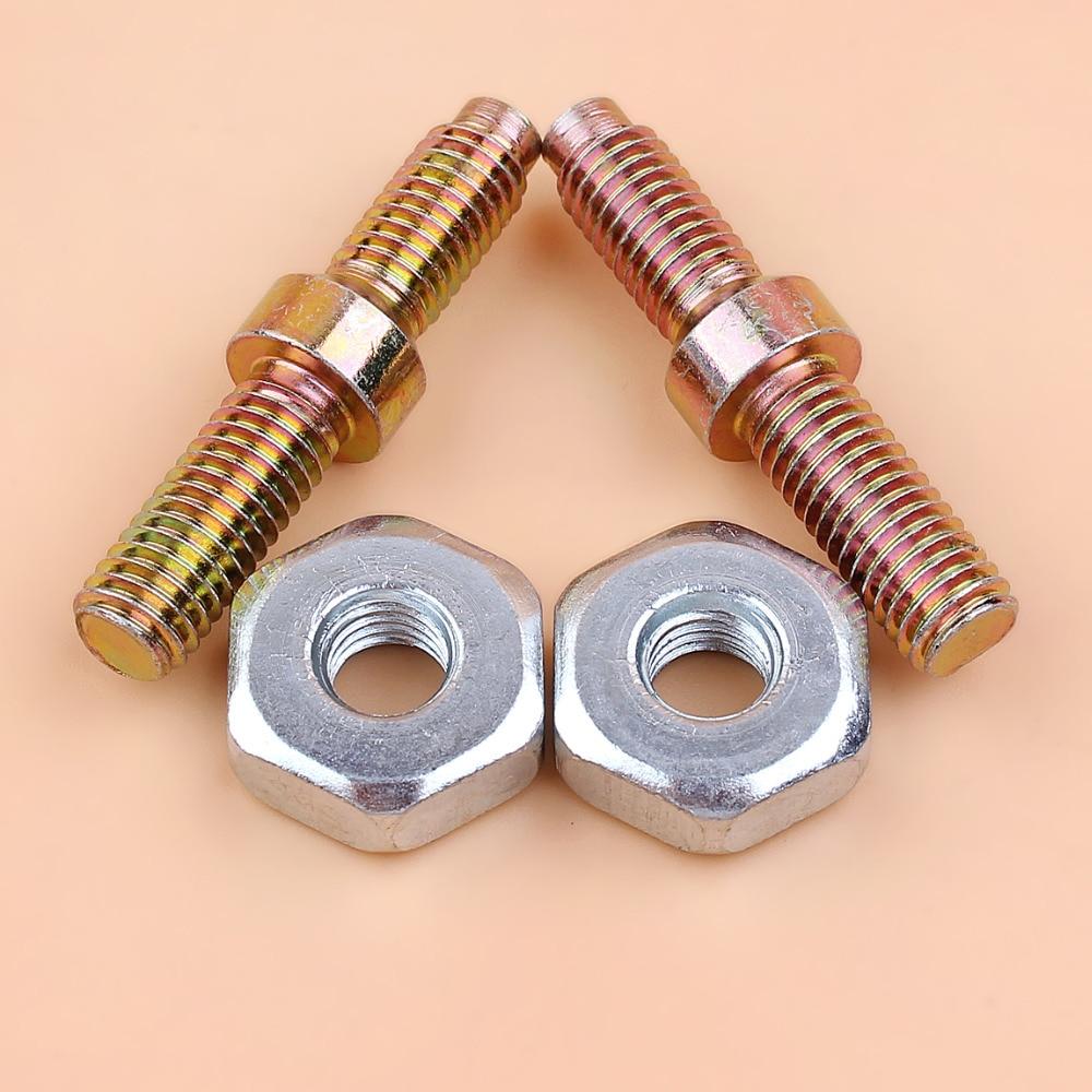 2 Collar Screw M8 Bar Stud Nuts Fit STIHL MS360 MS660 MS440 MS240 MS340 MS650 048 MS361 MS341 MS640 MS460 MS380 Chainsaws