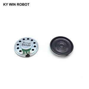 Image 2 - 5 sztuk/partia nowy ultra cienki Mini głośnik 32 ohm 0.5 watt 0.5W 32R głośnik średnica 27MM 2.7CM grubość 5MM