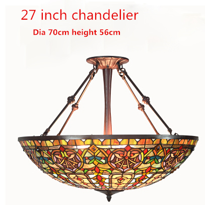 European style baroque chandelier tiffany country light classic european style baroque chandelier tiffany country light classic hotel project light living room stained glass chandeliers aloadofball Image collections