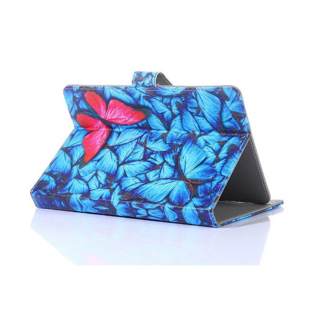 Myslc Universal Cover for Irbis TX07/TX08/TX17/TX18/TX70/TX71 7 inch Tablet Printed PU Leather Stand Case