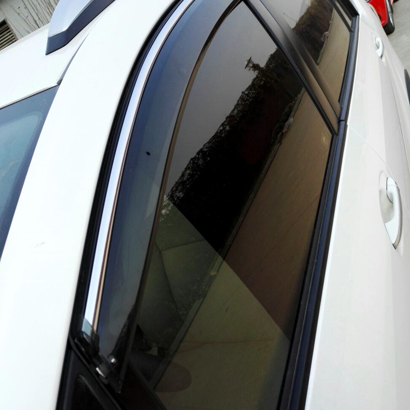 Audi Q3 2011-2016 Window Side Visors Sun Rain Guard Vent Deflectors