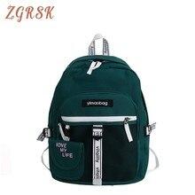 Korean Style Backpack Women Teenagers Girls Backpacks Bagpack Female Fashion Canvas Back Pack Luxury Bookbag