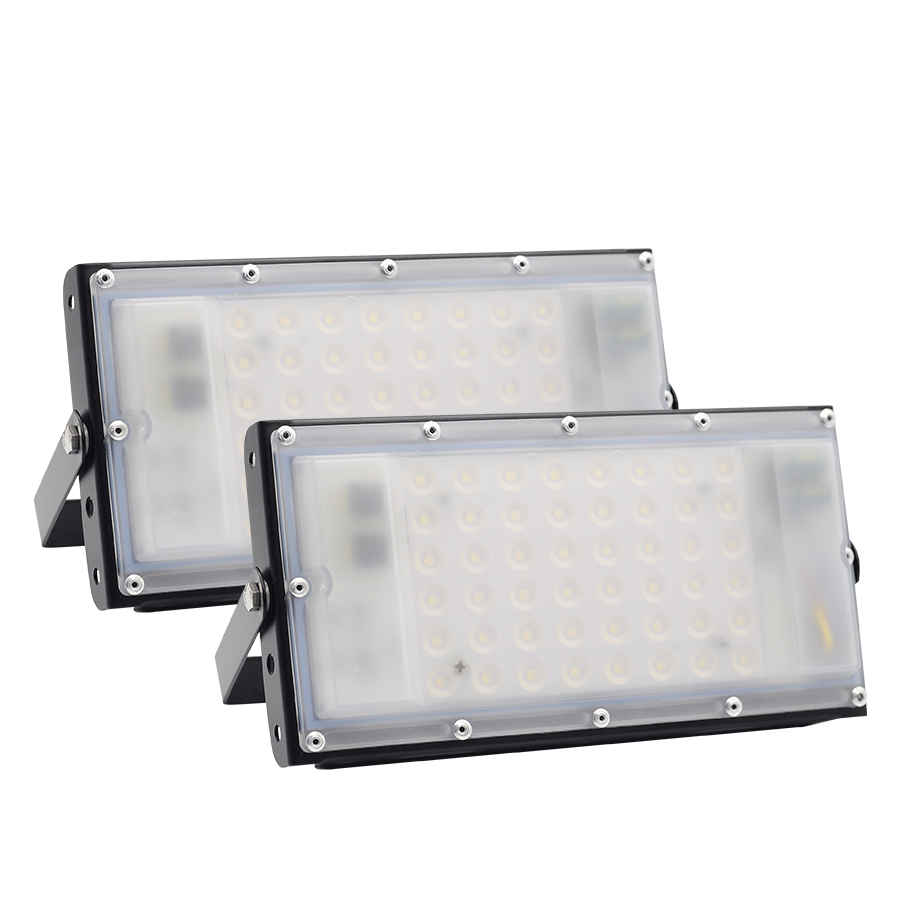 85-265V LED Floodlights Outdoor IP66 Waterproof 50W Ultra bright LED Flood Ligh LED Multifunctional Portable Emergency Lamps