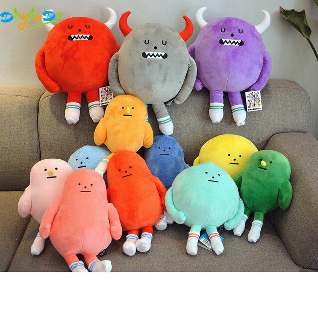 US $12 06 5% OFF|40cm Cartoon Korea Anime Plush Toy Kawaii Sticky Monster  Toys Soft Stuffed Animals Monster Pillow Kids Birthday Gift-in Movies & TV
