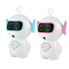 Early Education Intelligent Robot Voice Control RC Robot Toy for Baby Child Blue Pink(China)