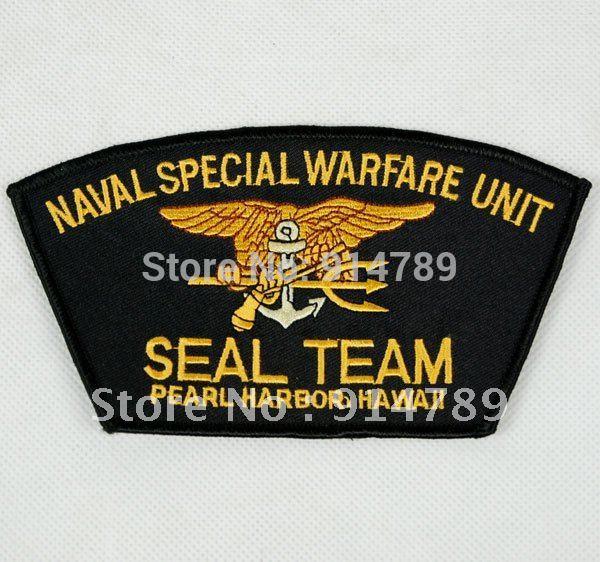 US NAVAL SPECIAL WARFARE UNIT SEAL TEAM PEARL HARBOR HAWAII PATCH -32264