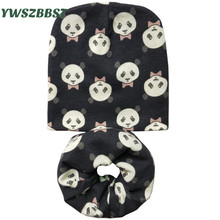 Baby Hat Girl Boy Toddler Beanies Infant Cap Set Cotton Caps Scarf O Ring Scarves