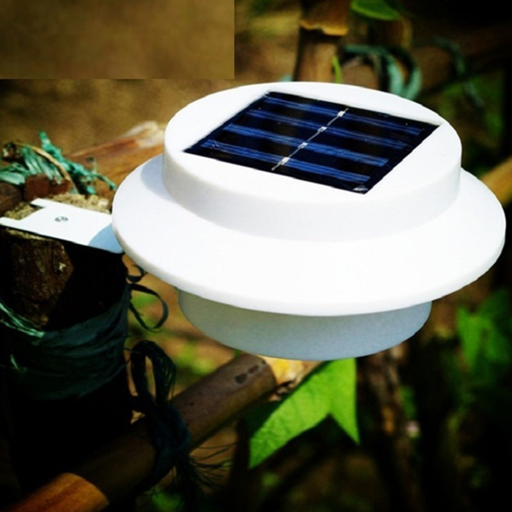 Automated Switch Led Solar Light Outdoor Garden Decoration Landscape Lawn Solar  Power Panel 3 LED Fence Wall Solar Power Lamps In Solar Lamps From Lights  ...