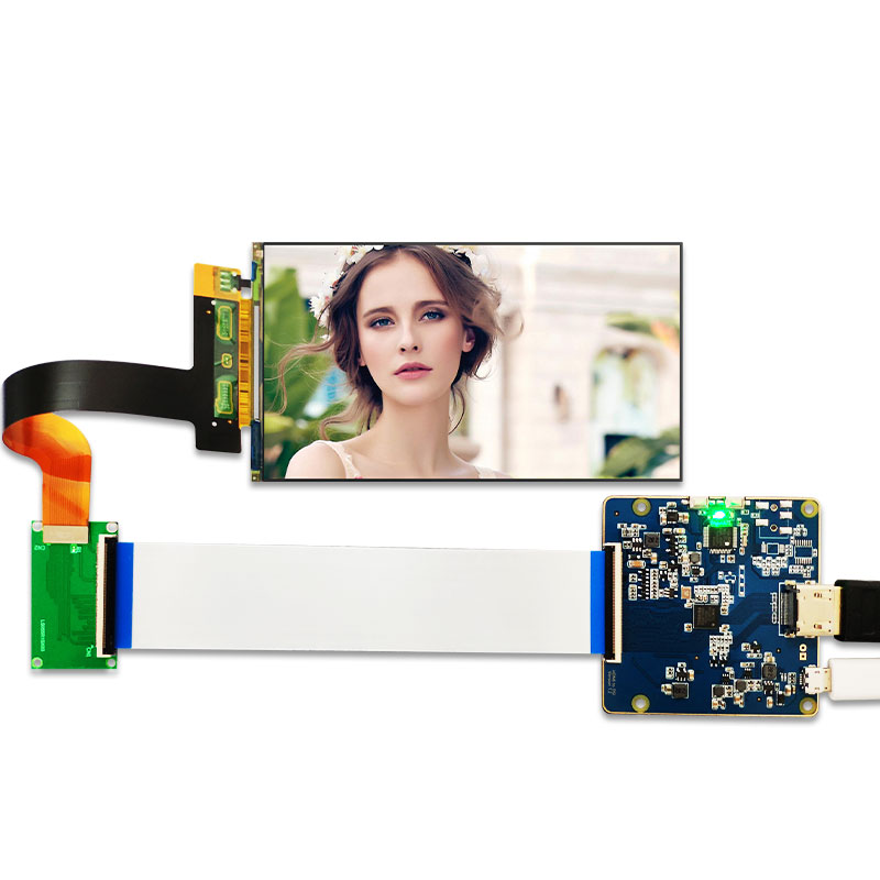 LS055R1SX03 2560x1440 5.5 inch 2K LCD display with HDMI to MIPI controller board for WANHAO D7 3d Printer Projector(China)