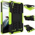 Para lenovo a6010 plus cubierta antidetonante tpu armor defender case completo case para lenovo a6010 a 6010 más fundas cubierta de w/soporte