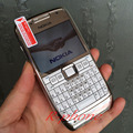 Восстановленное в Исходном Nokia E71 Mobile Phone 3 Г, Wifi, GPS 5MP Разблокирован Смартфон Арабский Русская Клавиатура