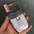 Remodelado original nokia e71 mobile phone 3g wifi gps 5mp desbloqueado smartphone árabe teclado russa