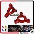 Venda quente 2 pcs Acessórios Da Motocicleta Para BMW S1000RR 17mm CNC Garfos Preload Ajustadores Vermelho