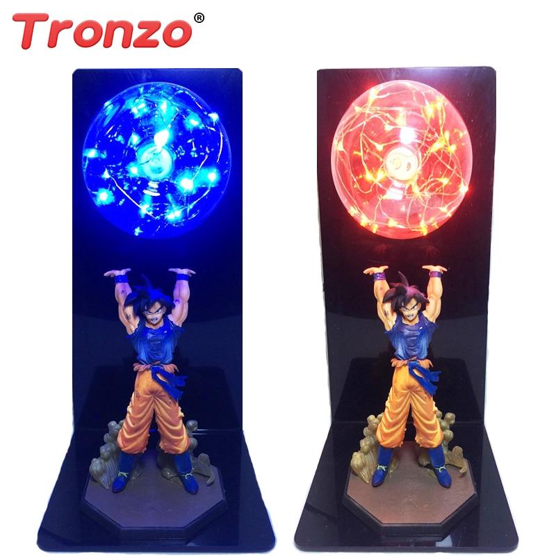 Tronzo 30cm Dragon Ball Z Son Goku Super Saiyon Ruh Bomba - Oyuncaq fiqurlar