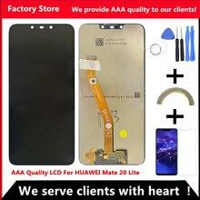 """2340*1080 6.3 """"AAA Kwaliteit LCD Met Frame Voor HUAWEI Mate 20 Lite Lcd scherm Voor Mate 20 Lite Screen SNE LX1 SNE L21 L23"""
