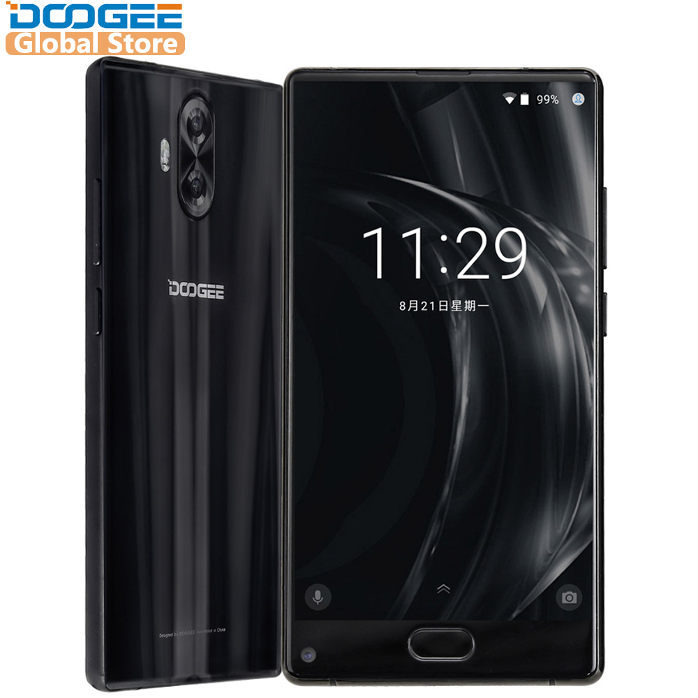 Оригинал DOOGEE MIX Lite мобильный телефон 2 ГБ + 16 ГБ двойной Камера 5.2 ''mtk6737 4 ядра android 7.0 3080 мАч отпечатков пальцев ID смартфон