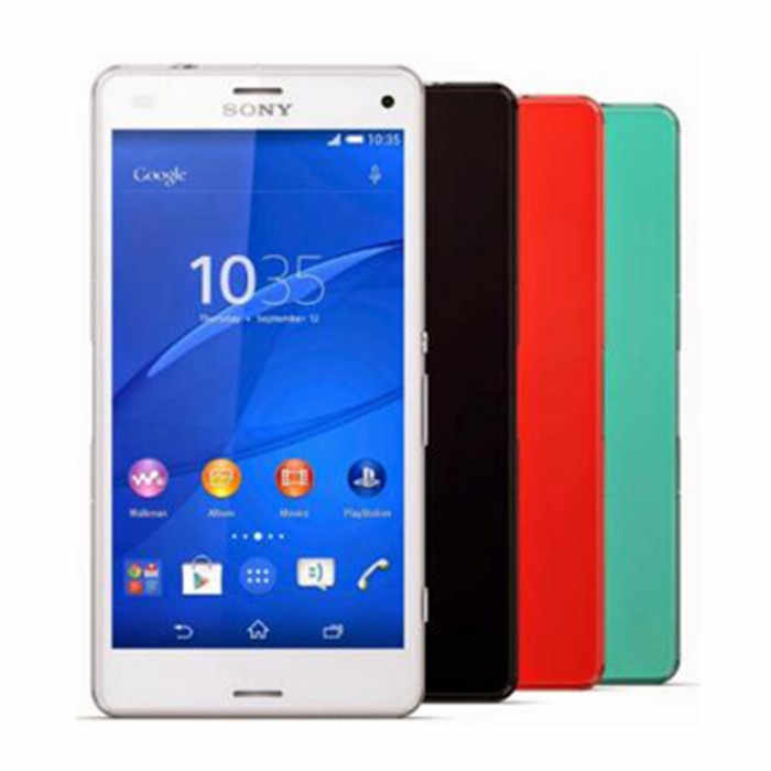"Débloqué Original Sony Xperia Z3 Compact D5803 4G LTE Android Smartphone 2 GB RAM 16 GB ROM 4.6 ""WIFI GPS 1080 P téléphone portable"