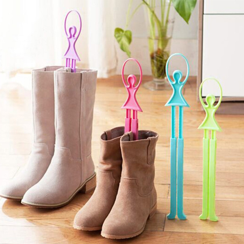 EYKOSI Extensible Shoe Trees Women Lengthen Stretcher Ballet Boots Shoe Stand Holder With Plastic NEW coloring of trees