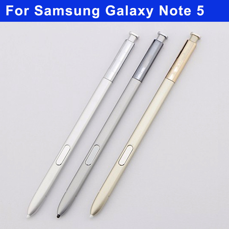 100% work For Samsung Galaxy Note 5 S pen SM-N9200 N9208 N9209 Note5 S pen Stylus Mobile Phone Accessories Touch Pen Gray Pink