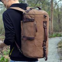 2016 Hot Arrival Fashion Men S Shoulder Bag Student Bag Korean Canvas Bucket Bag Leisure Outdoors