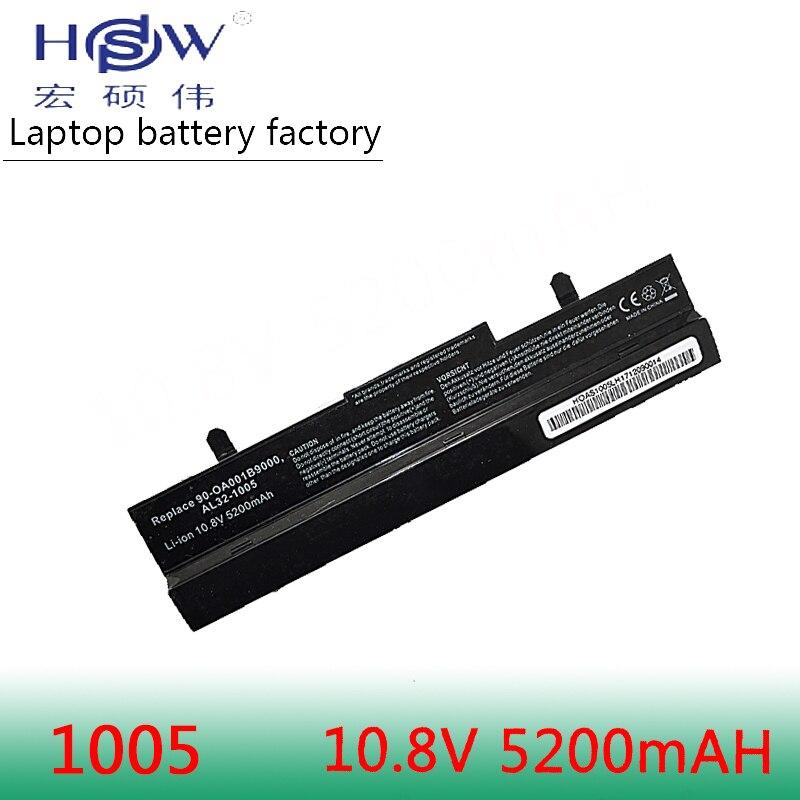 HSW 5200mAh baterie pro Asus Eee PC1001px 1001p 1001 1005 1005PEG 1005PR 1005PX AL31-1005 AL32-1005 ML32-1005 PL32-1005 baterie