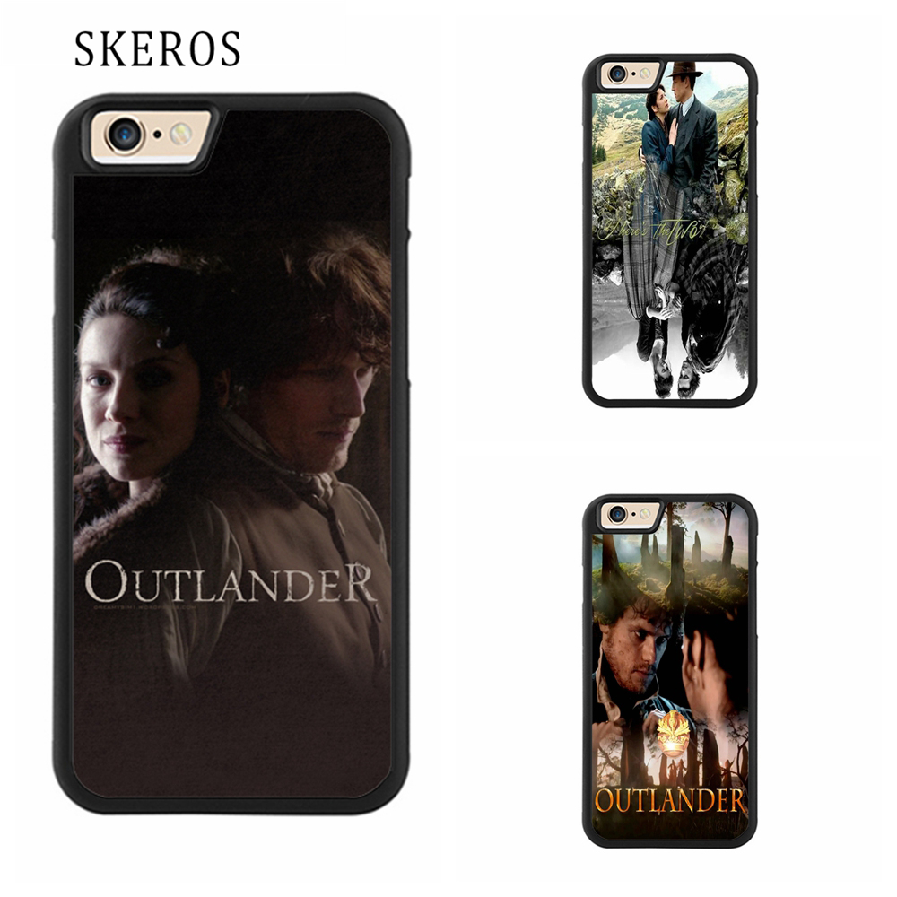 SKEROS GREAT JAMIE AND CLAIRE OUTLANDER cover phone case for iphone X 4 4s 5 5s 6 6s 7 8 6 plus 6s plus 7 plus 8 plus #qq160