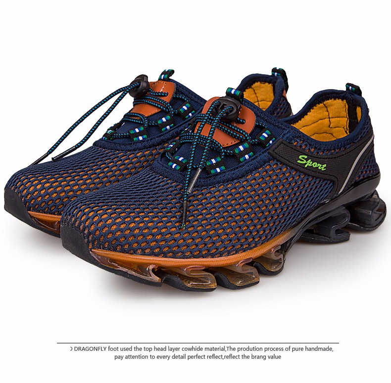 Super Cool breathable running shoes men sneakers bounce summer outdoor sport shoes Professional Training shoes plus size 30