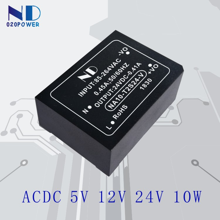 цена на 1pcs industrial ac dc power supply 220V to 5V2A 12V 24V 10w isolated acdc power module converter quality goods