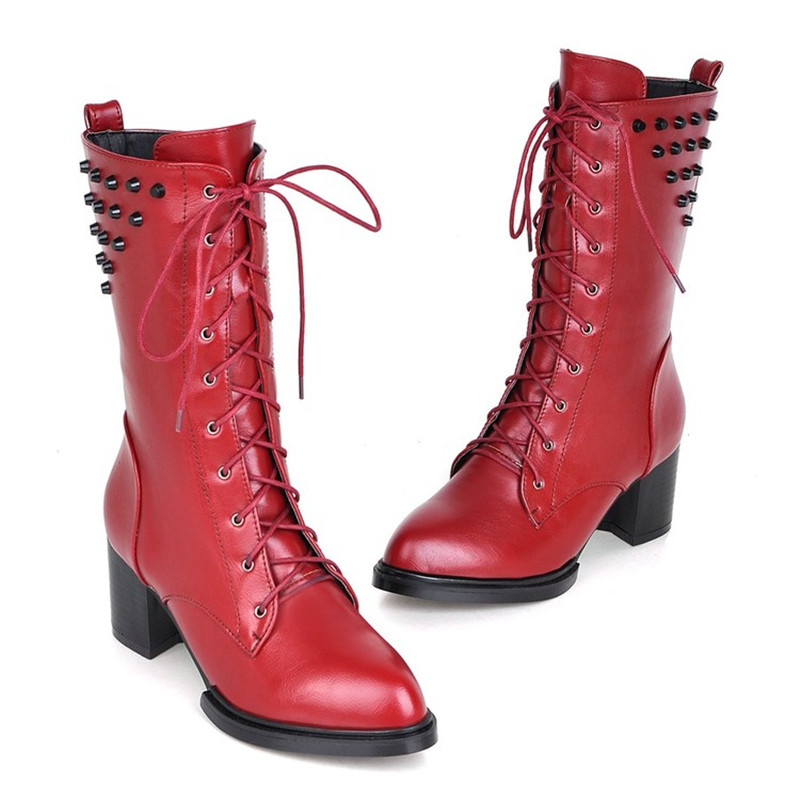 Popular Red Combat Boots-Buy Cheap Red Combat Boots lots from
