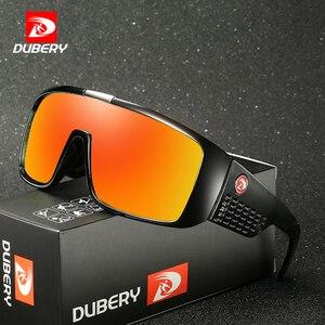 Image 1 - DUBERY Brand Design UV400 Sunglasses Mens Retro Male Goggle Colorful Sun Glasses For Men Fashion Mirror Shades Oversized Oculos
