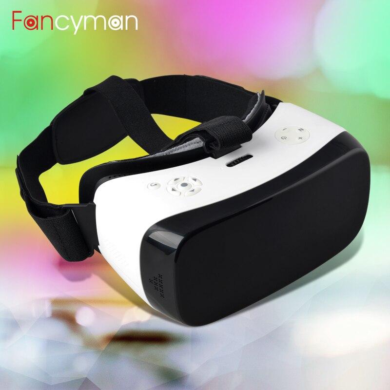FANCYMAN V2 VR 3D de Realidad Virtual Todo en Un Solo Auricular 1920*1080 P pala