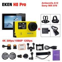 Новое поступление оригинальной Экен H8 Pro экшн-камеры 4 К 30fps Action Cam 120fps 30 М Sport 2.0 'Экран 1080 P Go Водонепроницаемый Pro камеры