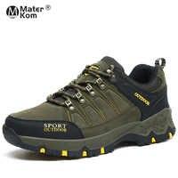 Talla 36-45 Unisex zapatos de senderismo al aire libre Mujer impermeable antideslizante escalada montaña Trekking Mujer zapatos para caminar hombres zapatos de caza