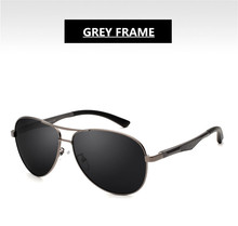 Gun-Grey Frame Sunglasses Pilot Men Eyewear Fashion Trency EXIA OPTICAL KD-101 Series