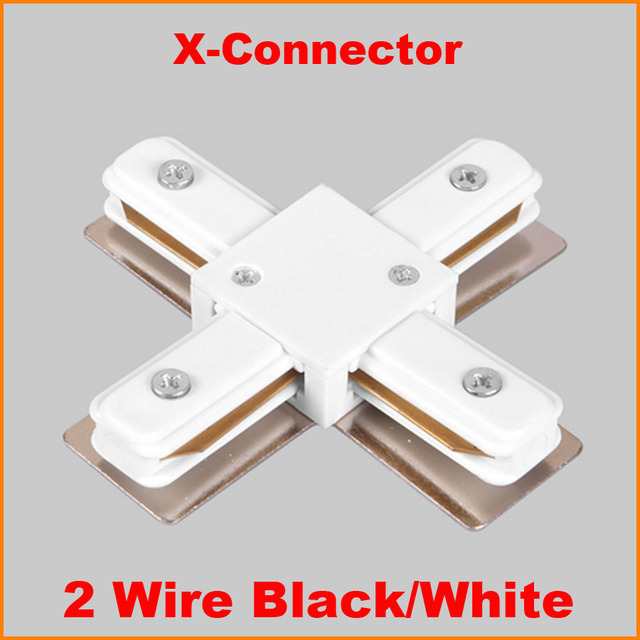 2 wire phase led track light rail connector track lighting fitting x 2 wire phase led track light rail connector track lighting fitting x track rail connector aluminum mozeypictures Images