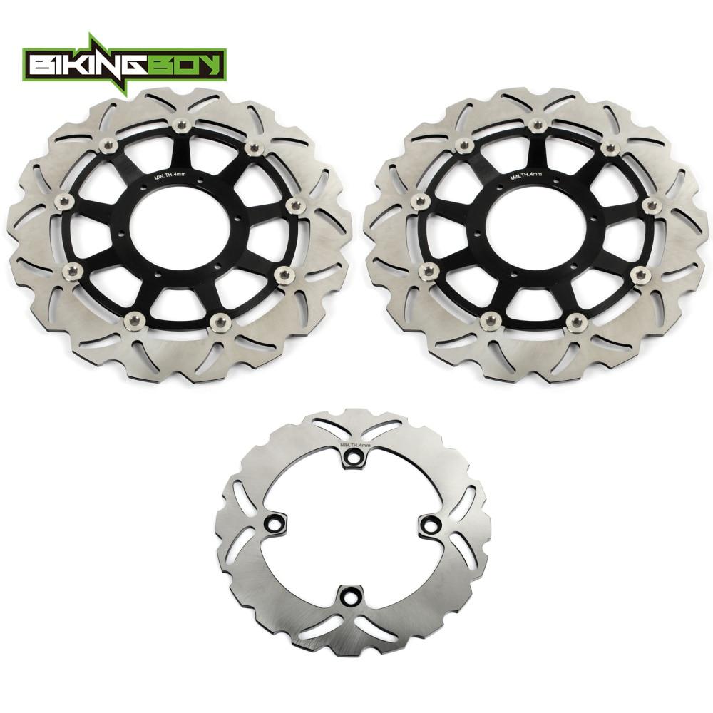 BIKINGBOY спереди и сзади тормозные диски Диски роторы для HONDA CBR 1000 RR CBR1000RR Fireblade 2006 2007 VTR 1000 SP 1 00 01 SP 2 02 07
