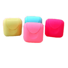 mini Bathroom Dish Plate Case Home Shower Travel Hiking Holder Container Soap Box