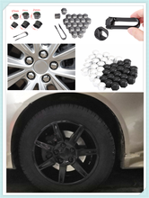 auto shape 20pcs car wheel cover screw protector nut dustproof 17 19MM for Ford Taurus Mondeo Galaxy Falcon Everest S-MAX