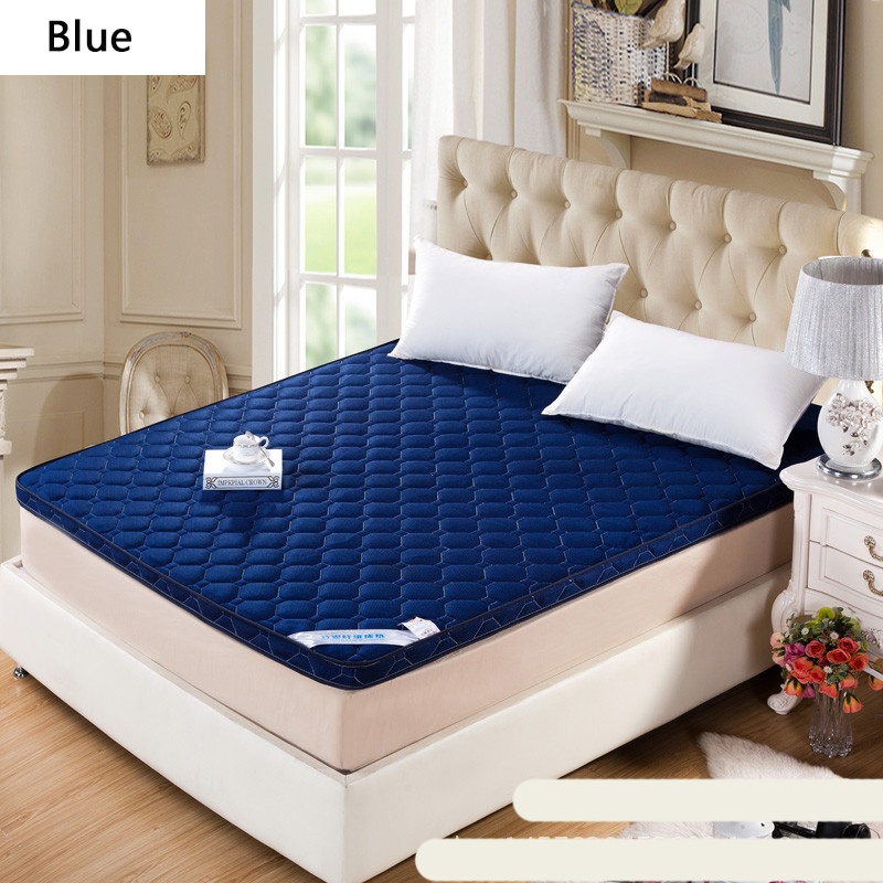 2018 New Style BreathableThick Stereoscopic Gray/Blue/Yellow/Brown/Red Wine Mattress Single Or Double  Household Mattress